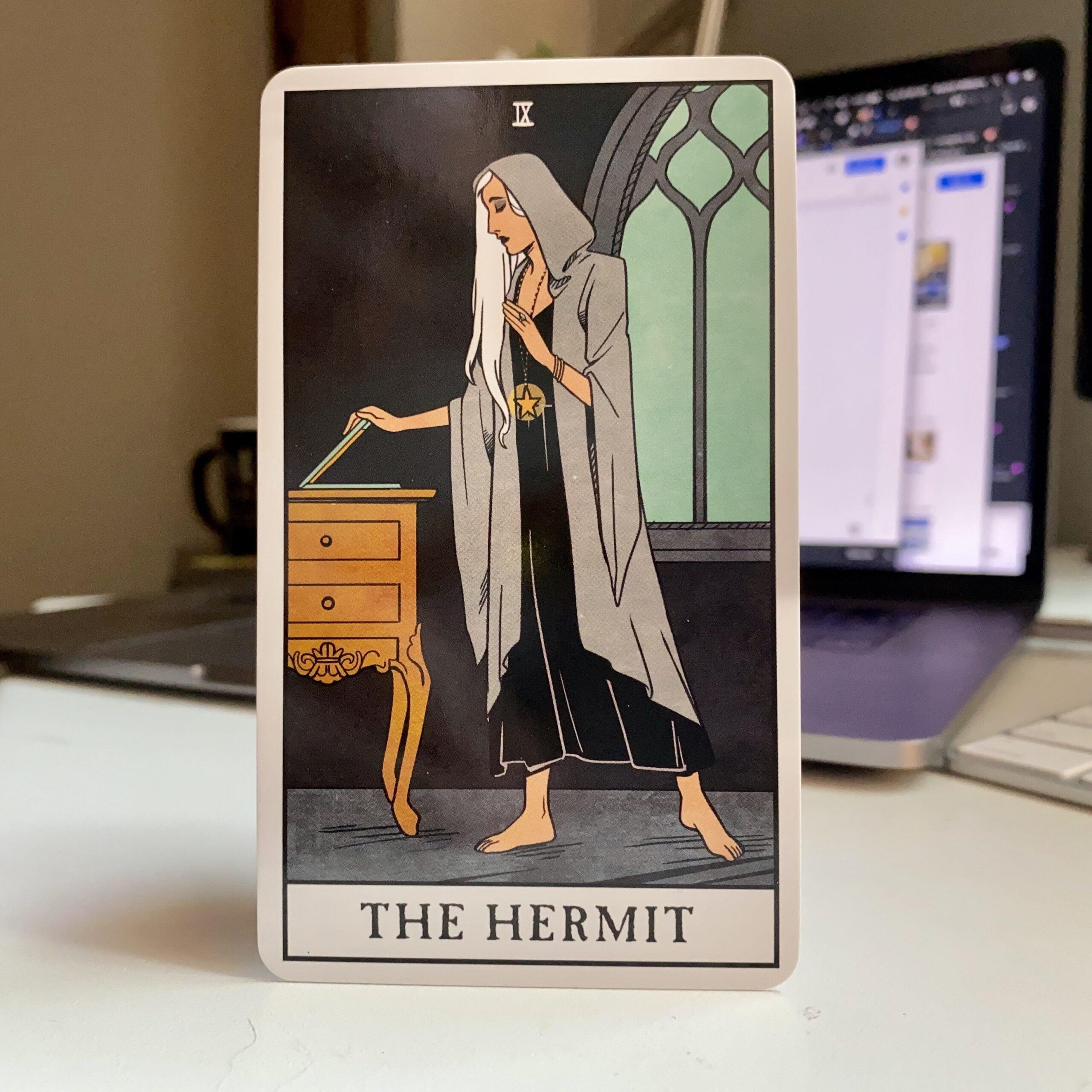Daily Tarot – The Hermit