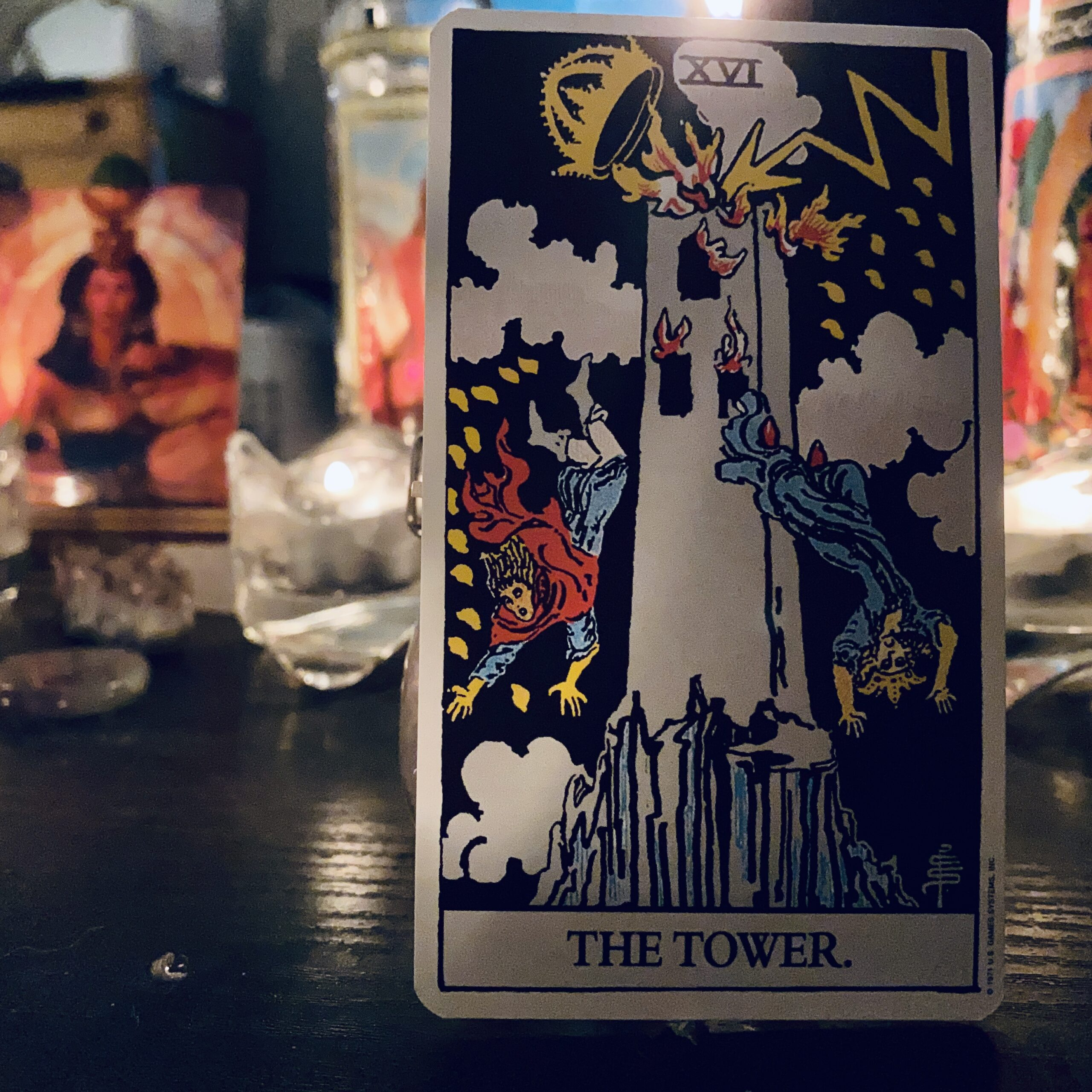 Tarot Card of the Day – The Tower
