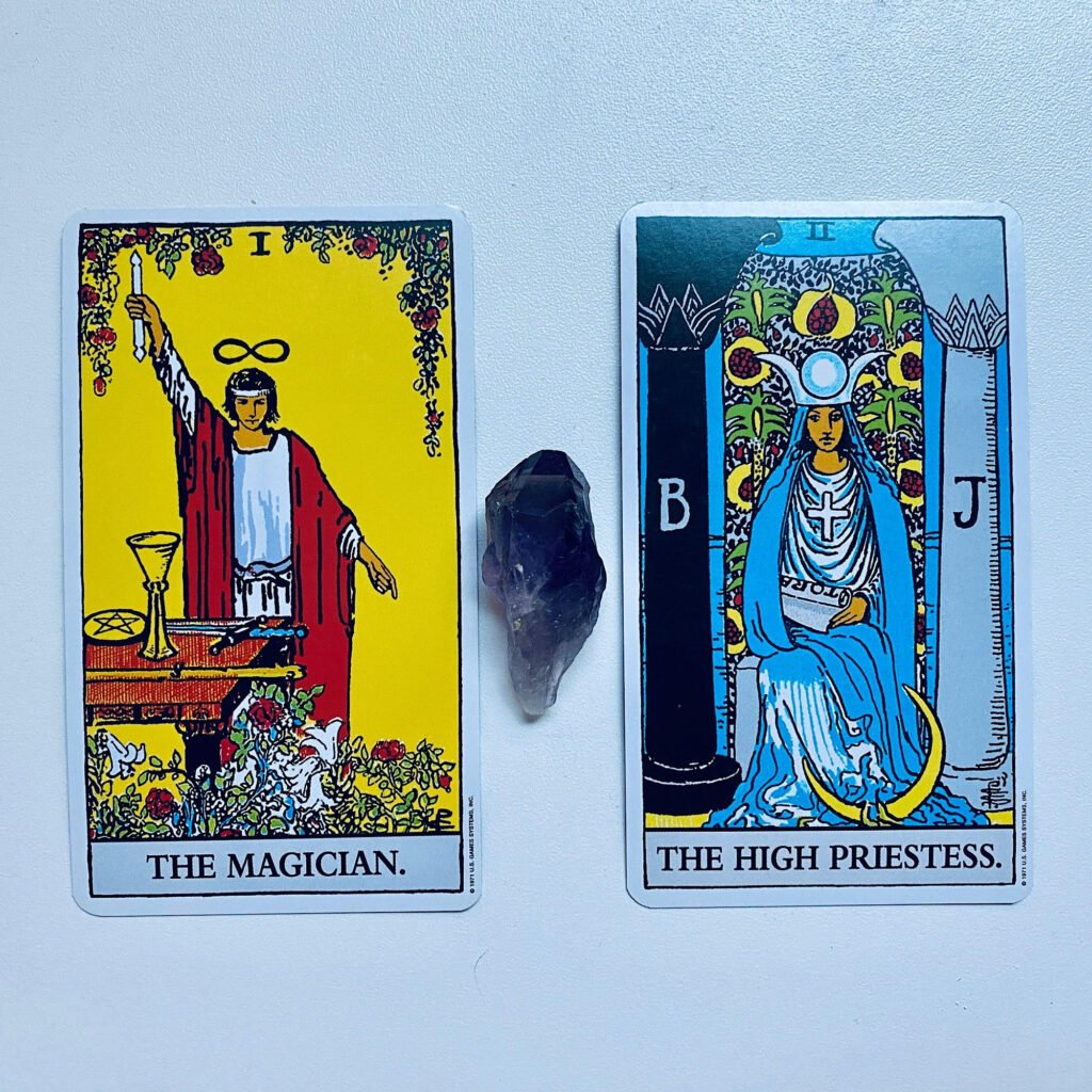 Magician and High Priestess