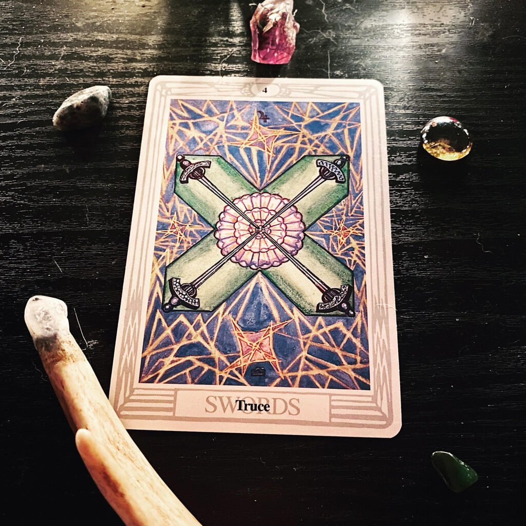 Four of Swords Thoth