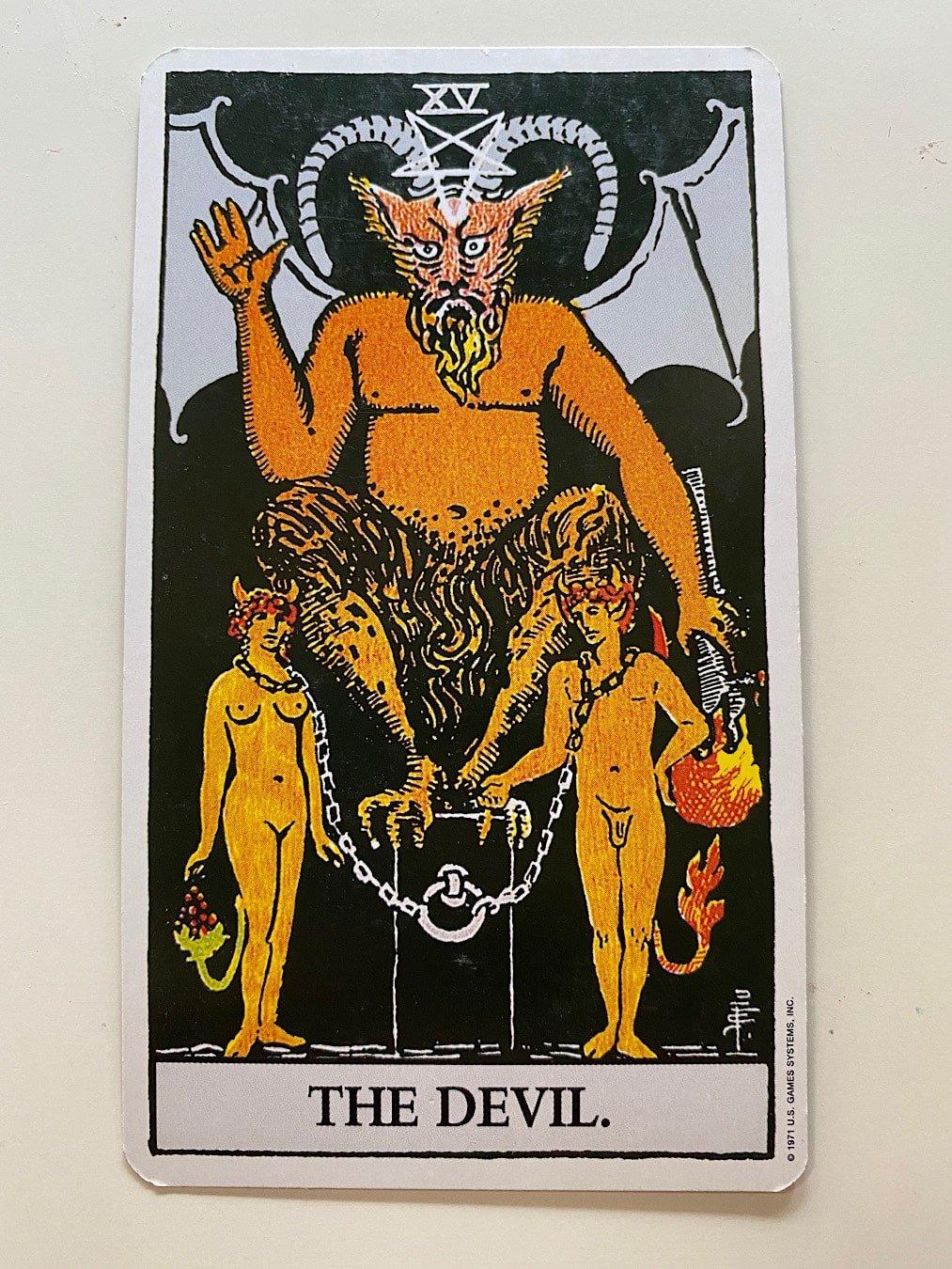 The Devil - Rider-Waite-Smith