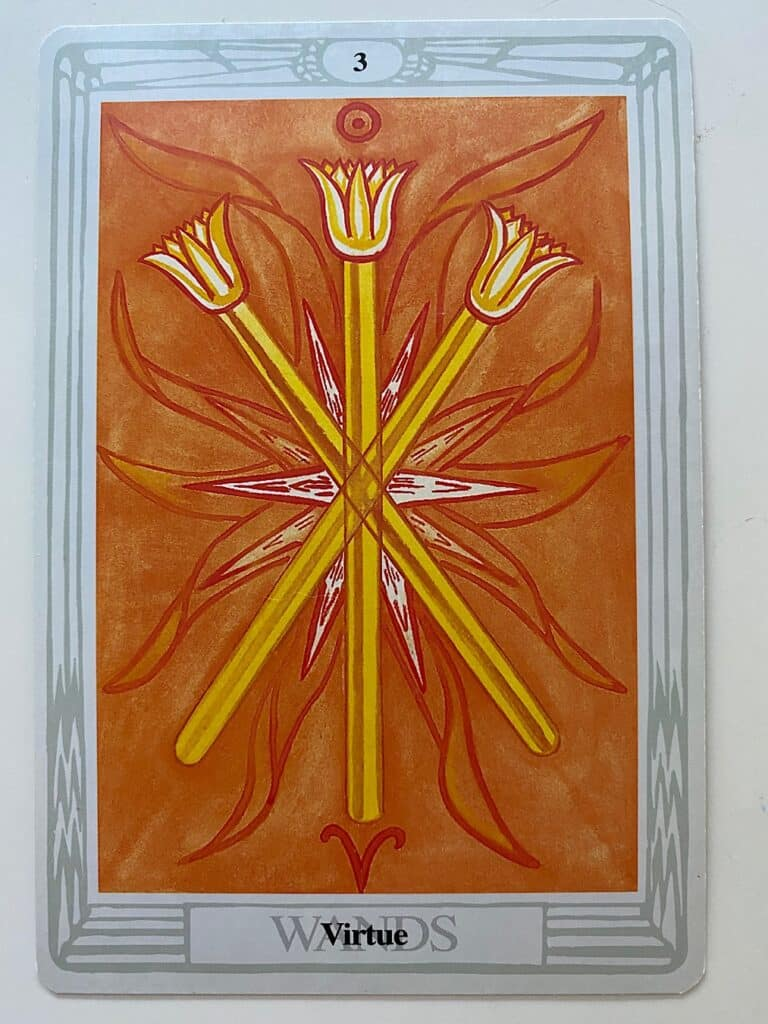 Three of Wands Thoth