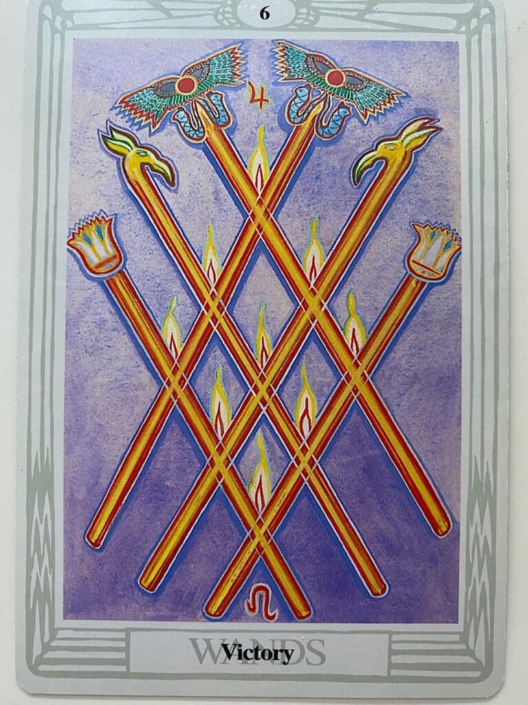 Six of Wands Thoth