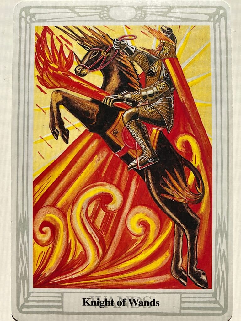 Knight of Wands Thoth