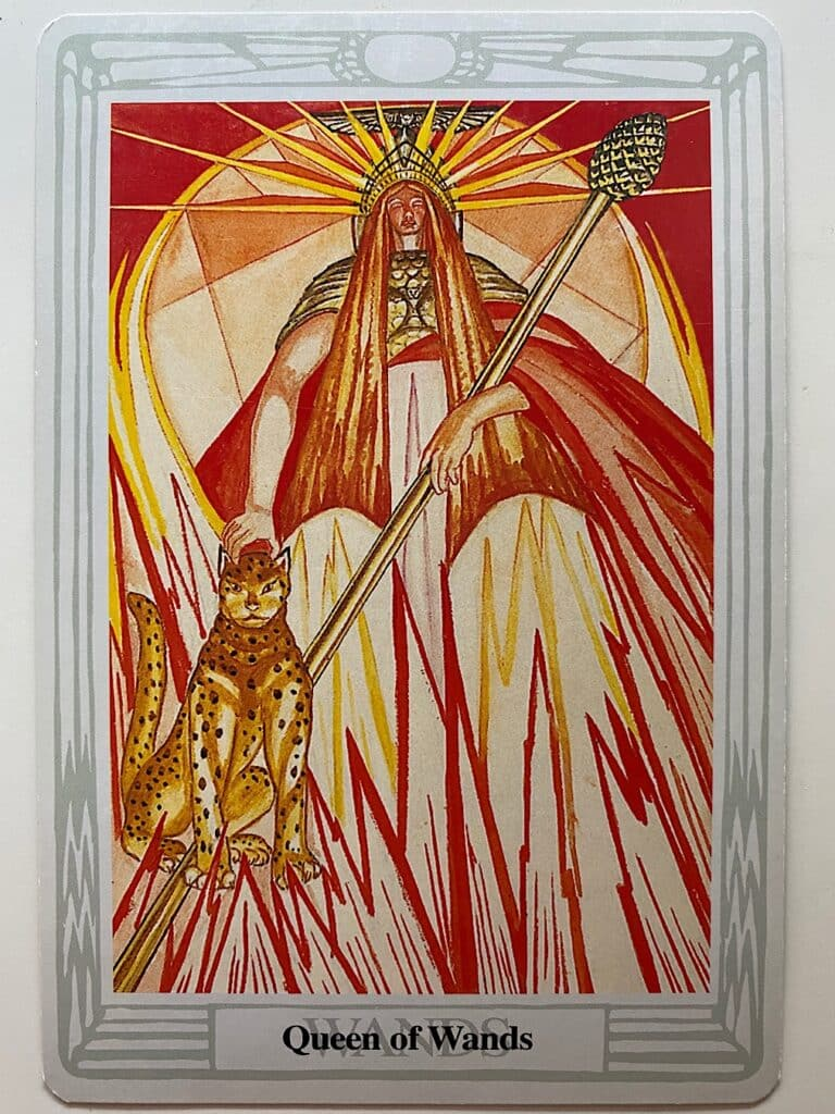 Queen of Wands Thoth