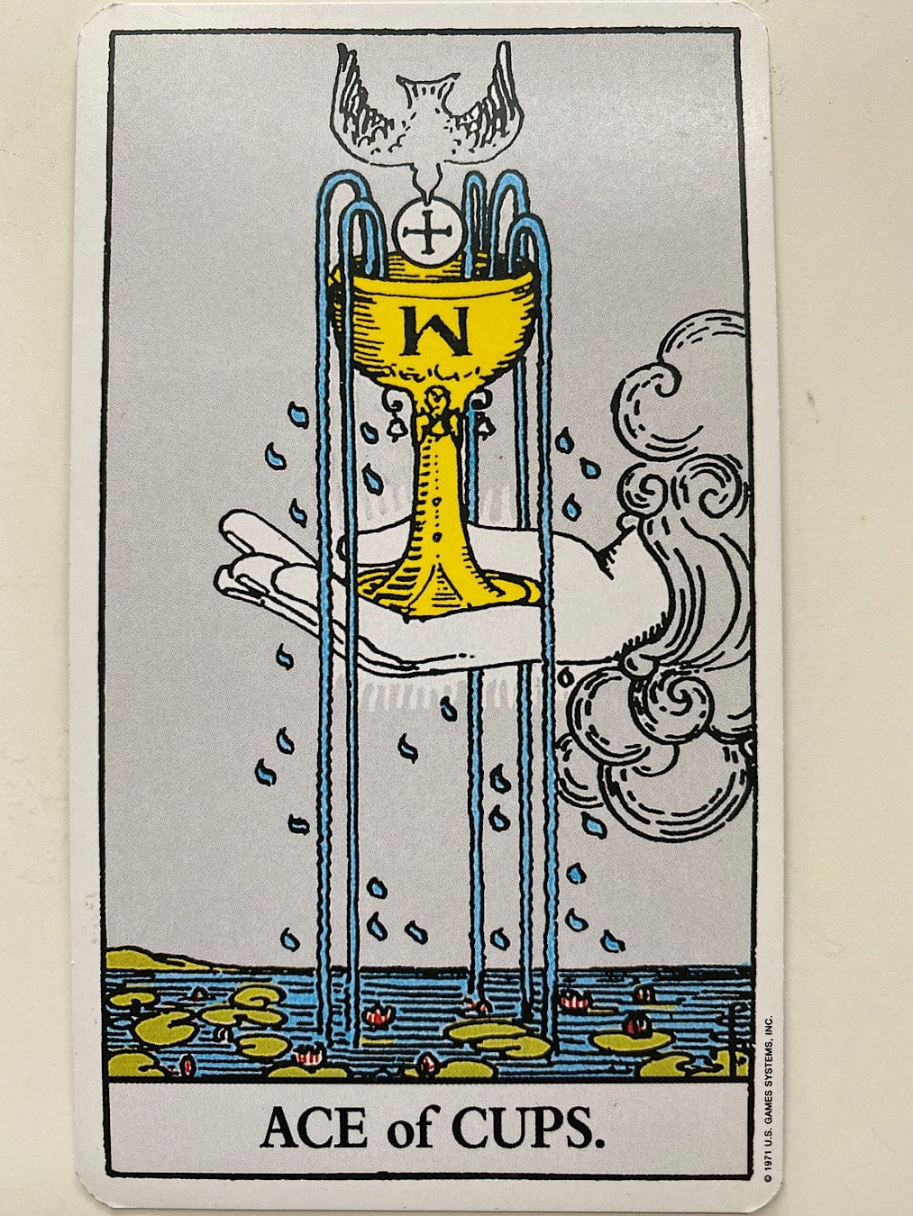 Ace of Cups Rider-Waite-Smith