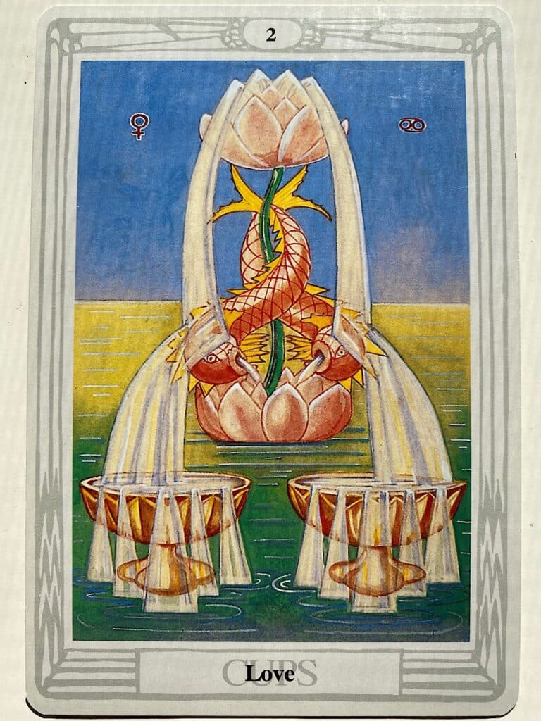 Two of Cups Thoth