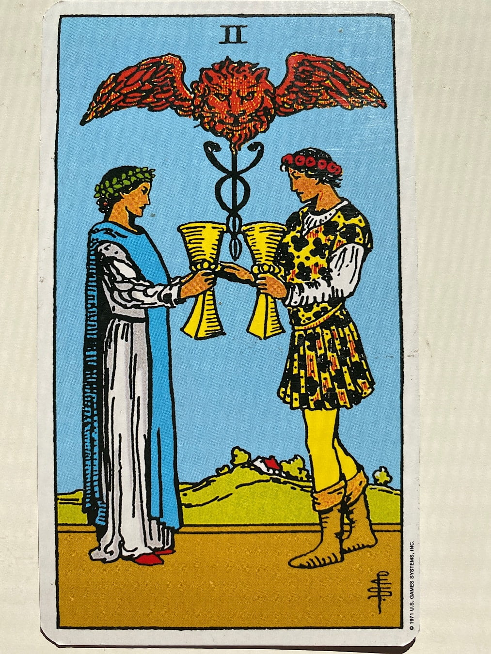 Two of Cups Rider-Waite-Smith