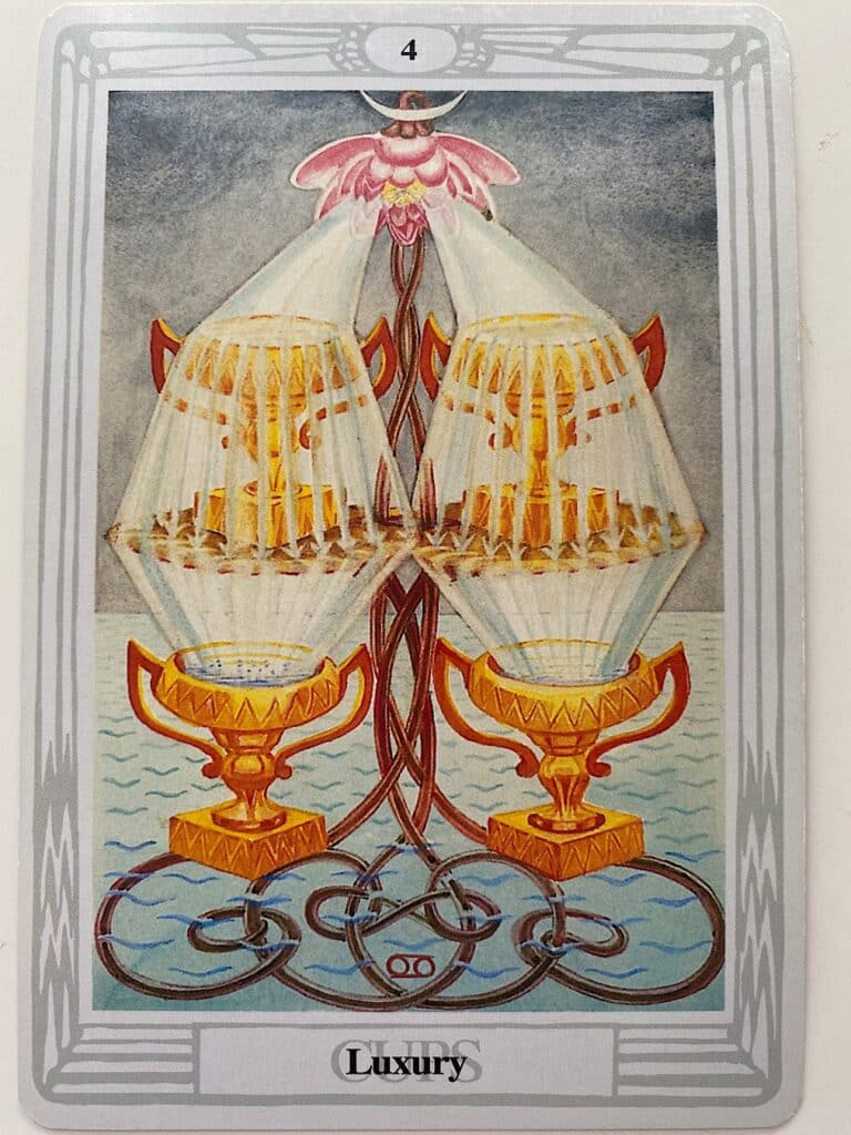 Four of Cups Thoth