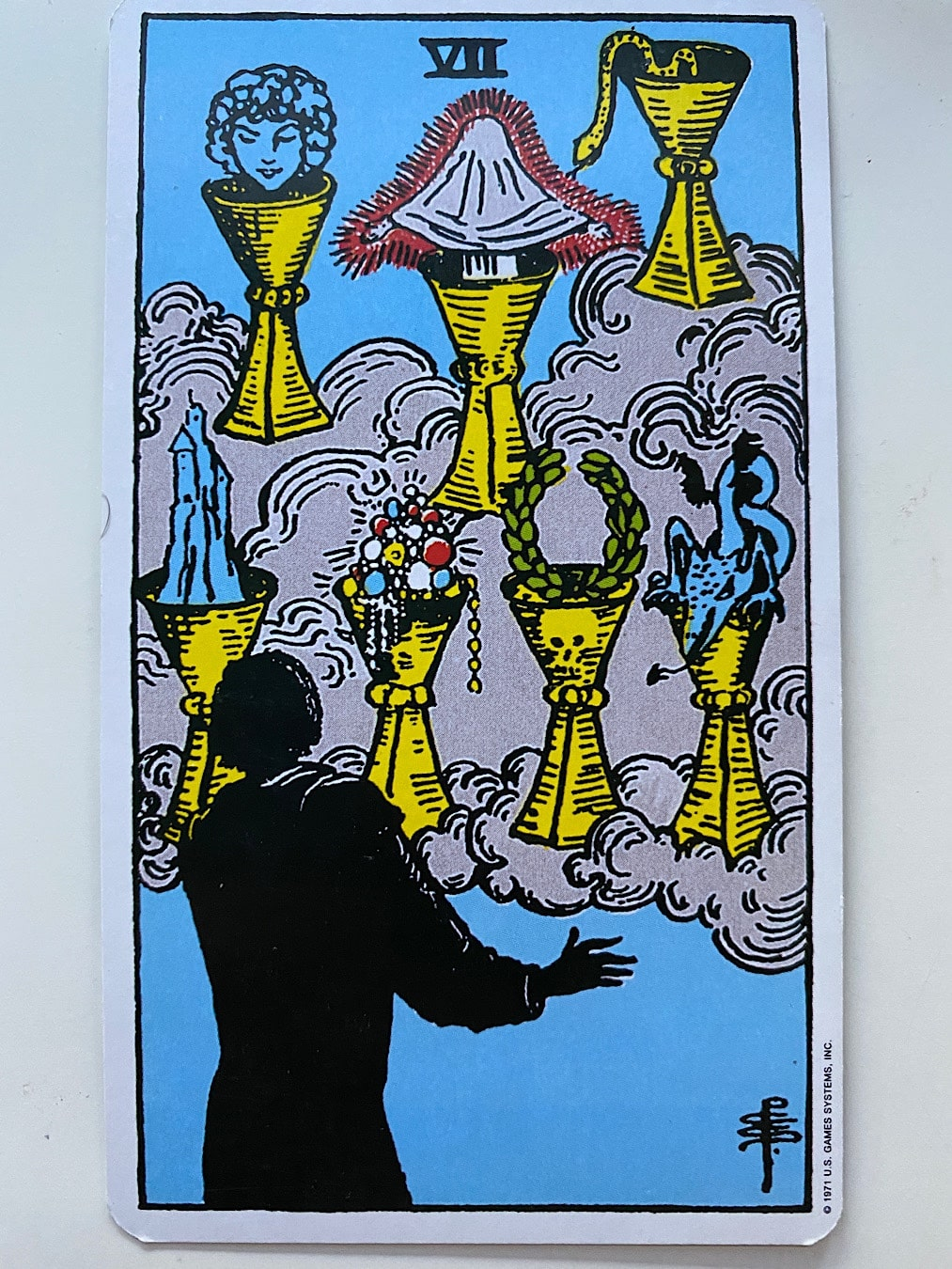 Seven of Cups Rider-Waite-Smith