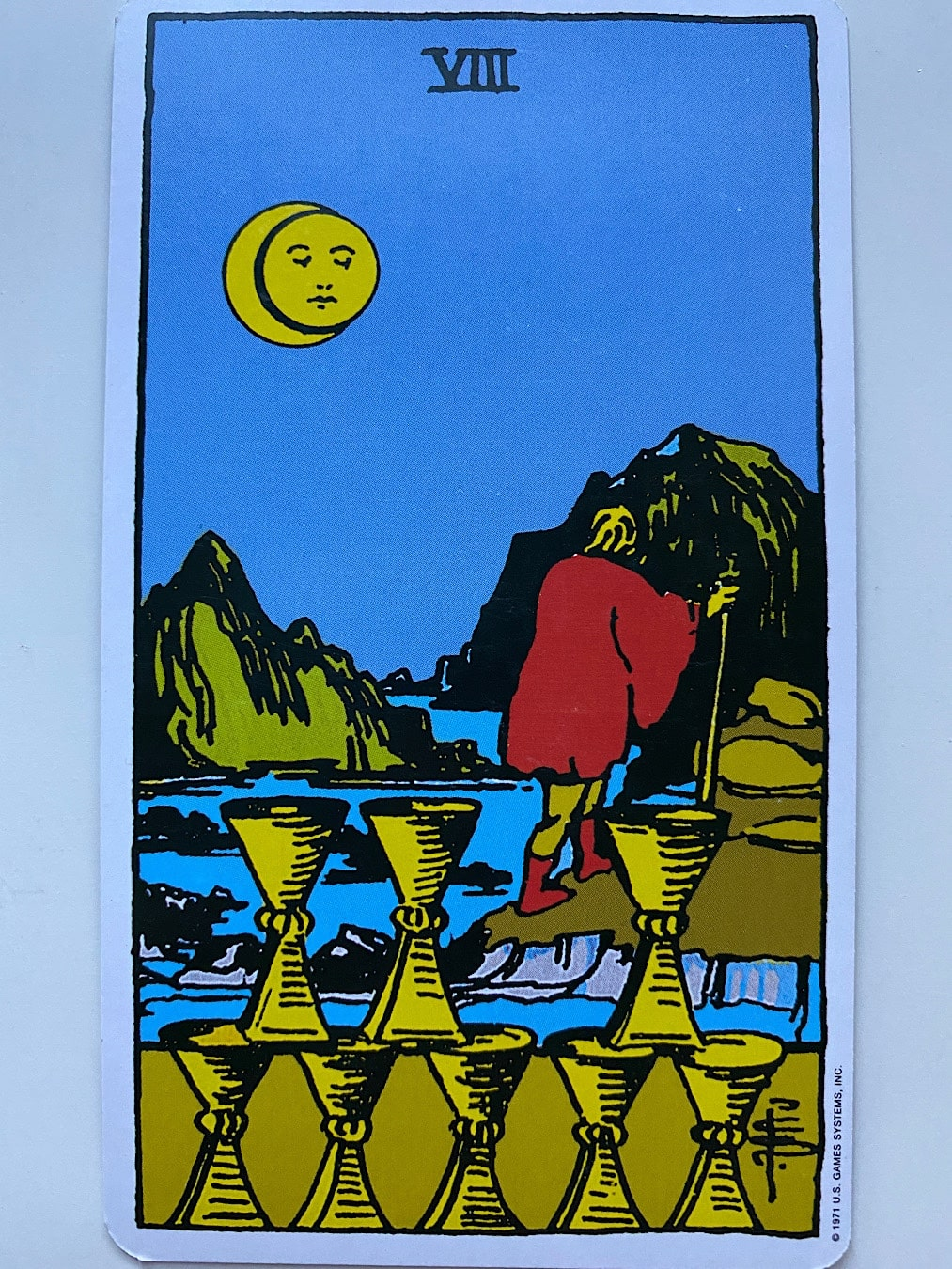 Eight of Cups Rider-Waite-Smith