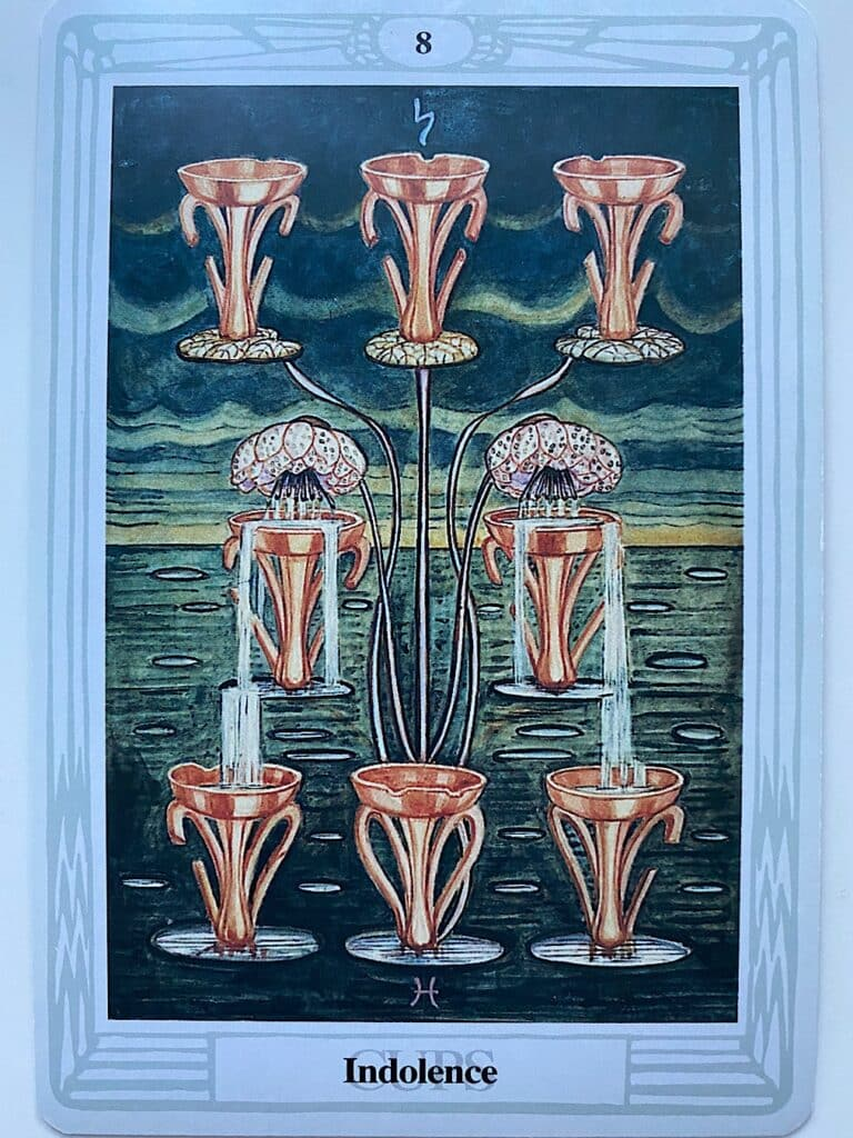 Eight of Cups Thoth
