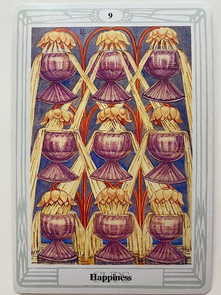 Nine of Cups Thoth