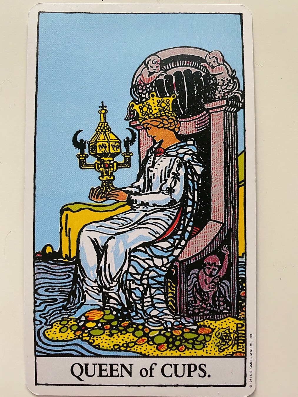 Queen of Cups Rider-Waite-Smith