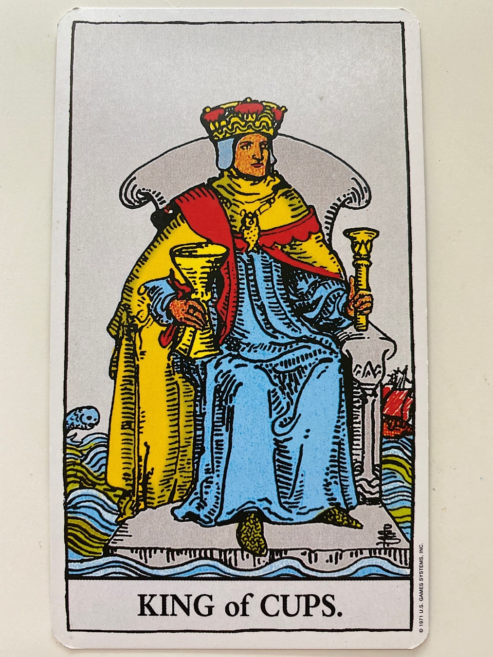 King of Cups Rider-Waite-Smith