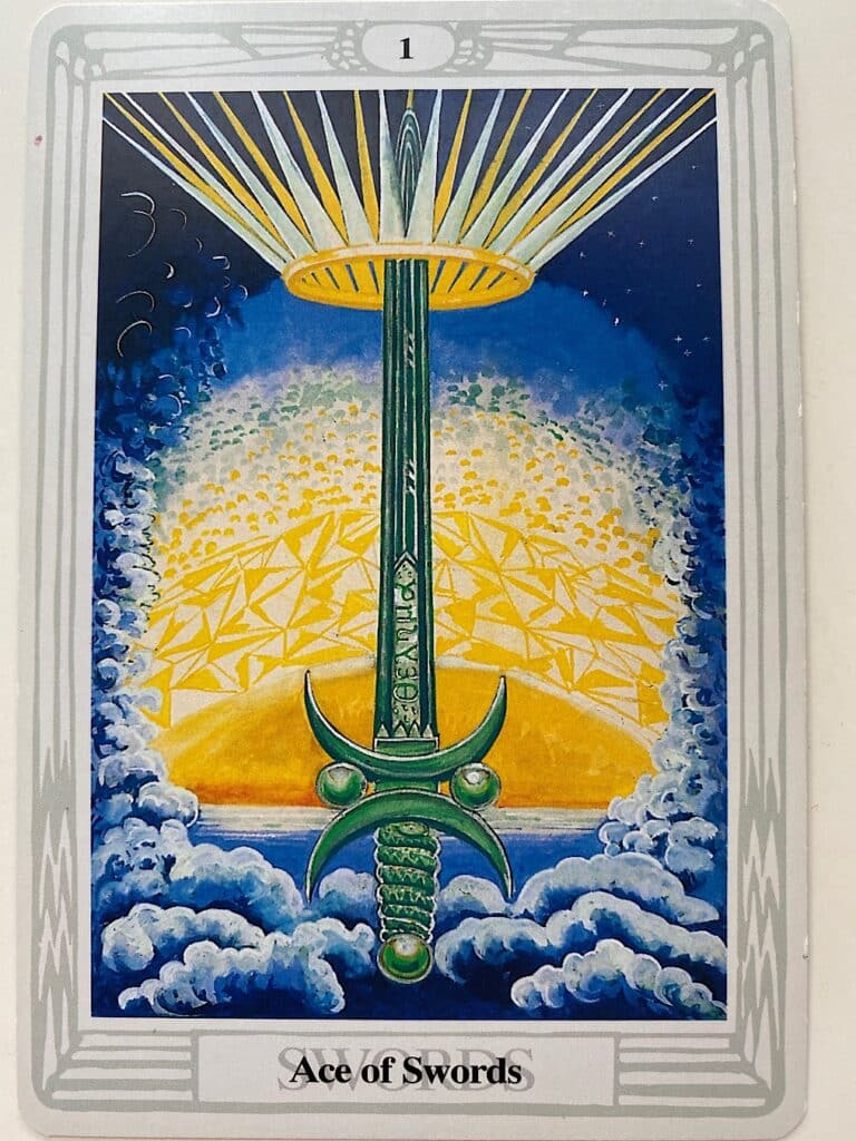Ace of Swords Thoth