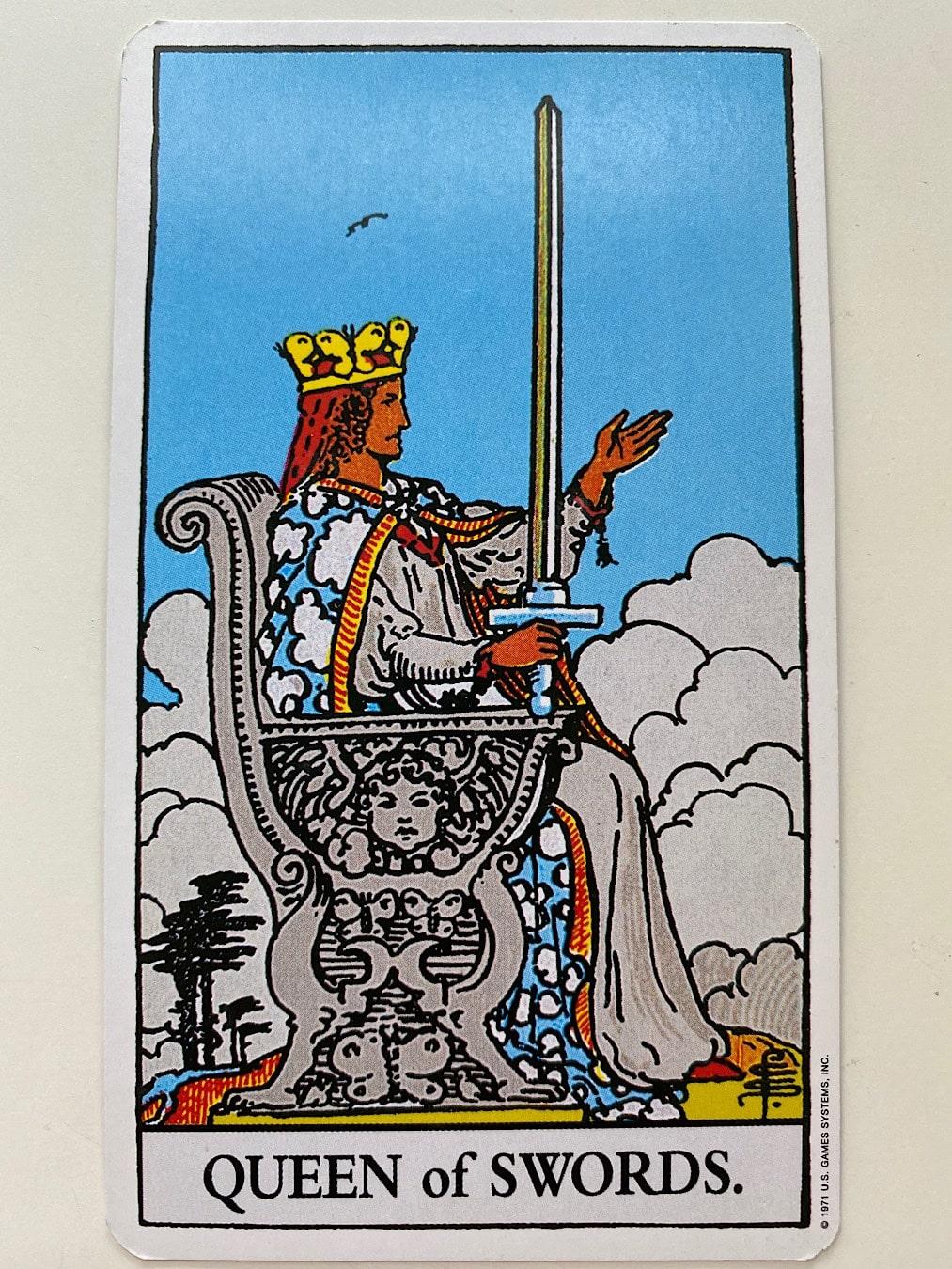 Queen of Swords Rider-Waite-Smith